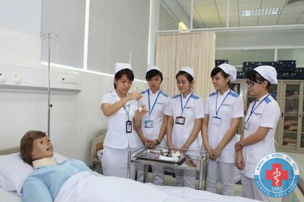 Thực hành nghề điều dưỡng