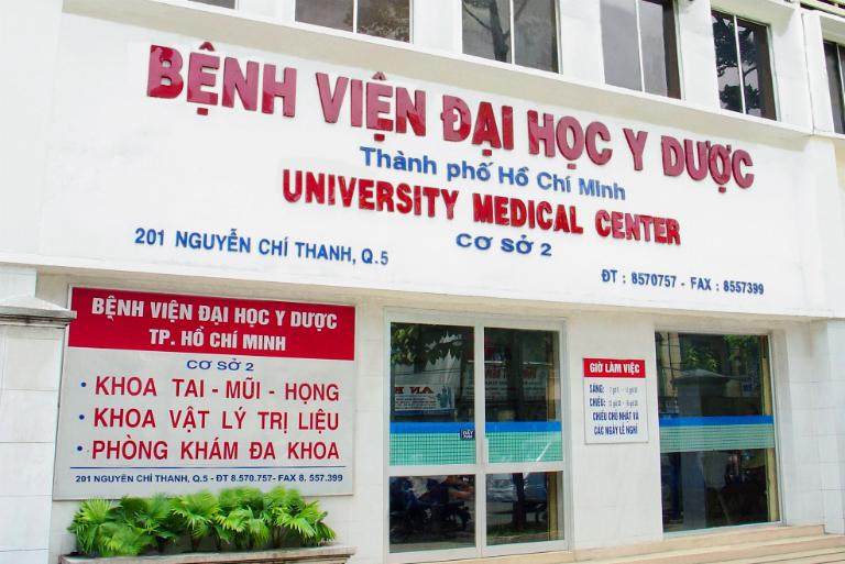 Đại học Y Dược thành phố HCM
