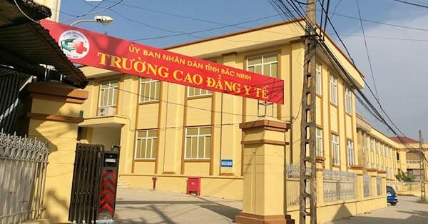 Cổng trường Cao đẳng y tế Bắc Ninh