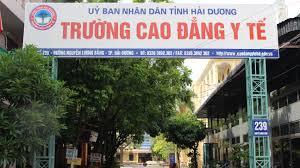 cổng trường Cao đẳng y tế Hải Dương
