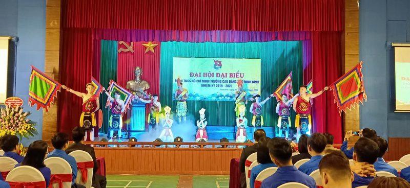 Văn nghệ chào mừng Đại hội đại biểu Đoàn TNCS trường Cao đẳng Ninh Bình nhiệm kì 2019-2022