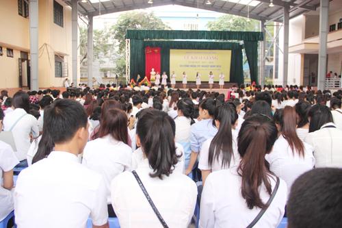Lễ Khai giảng trường Cao đẳng y tế Quảng Ninh