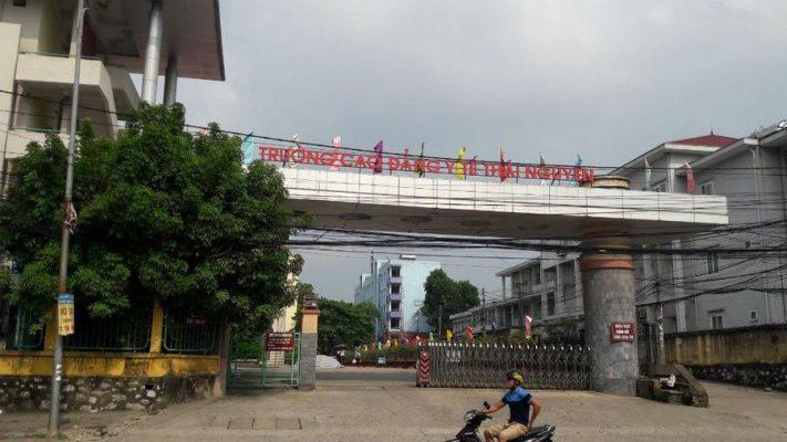 Cổng trường Cao đẳng y tế Thái Nguyên